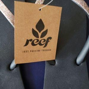 Brand new reef flip flops